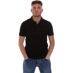 Vêtements Homme Polos manches courtes Sseinse ME1517SS Noir
