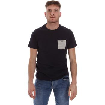 Vêtements Homme T-shirts manches courtes Sseinse ME1588SS Bleu