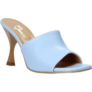 Chaussures Femme Mules Grace Shoes 6293Y014 Bleu