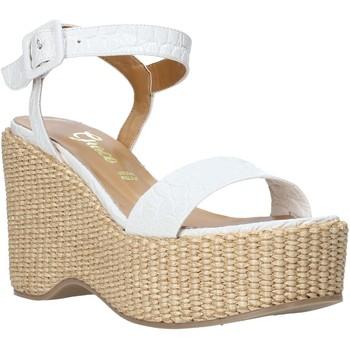 Chaussures Femme Sandales et Nu-pieds Grace Shoes 104002 Blanc