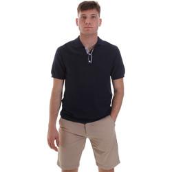 Vêtements Homme Polos manches courtes Sseinse ME1528SS Bleu