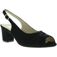 Chaussures Femme Sandales et Nu-pieds Melluso S615 Noir