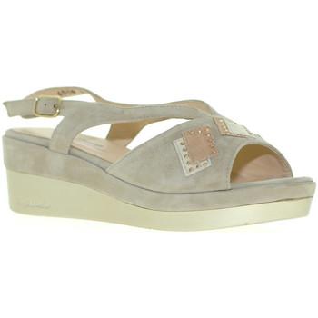 Chaussures Femme Sandales et Nu-pieds Melluso R70715 Gris