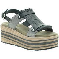 Chaussures Femme Sandales et Nu-pieds Pregunta IBH15804 Noir
