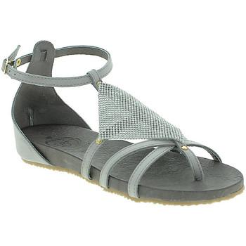 Chaussures Femme Sandales et Nu-pieds 18+ 6108 Gris