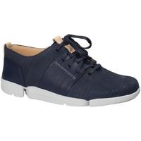 Chaussures Femme Baskets basses Clarks 131797 Bleu