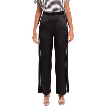 Vêtements Femme Pantalons fluides / Sarouels Y Not? 18PEY001 Noir