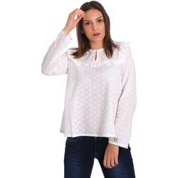 Vêtements Femme Tops / Blouses Y Not? 18PEY018 Blanc