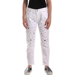 Vêtements Femme Jeans Y Not? 18PEY097 Blanc