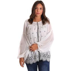 Vêtements Femme Tops / Blouses Smash S1887419 Blanc