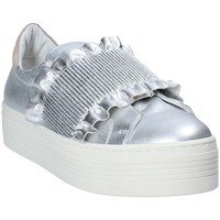 Chaussures Femme Slip ons Mally 6174 Gris