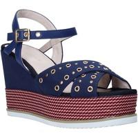 Chaussures Femme Sandales et Nu-pieds Lumberjack SW83106 002 M17 Bleu