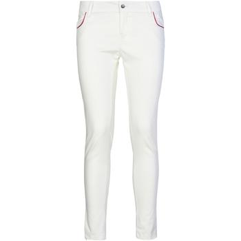 Vêtements Femme Chinos / Carrots Café Noir JP235 Blanc