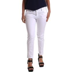 Vêtements Femme Chinos / Carrots Café Noir JP236 Blanc
