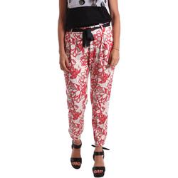 Vêtements Femme Chinos / Carrots Café Noir JP244 Rouge