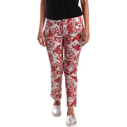 Vêtements Femme Chinos / Carrots Café Noir JP242 Rouge
