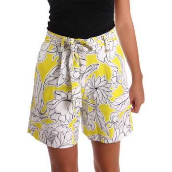 Vêtements Femme Shorts / Bermudas Y Not? 17PEY003 Jaune