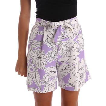 Vêtements Femme Shorts / Bermudas Y Not? 17PEY003 Violet