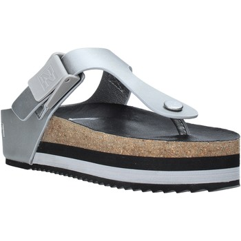 Chaussures Femme Tongs Napapijri NA4EUU Gris