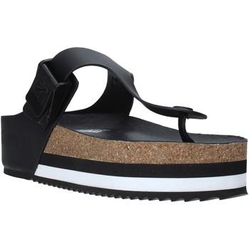 Chaussures Femme Tongs Napapijri NA4ESD Noir