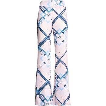 Vêtements Femme Pantalons fluides / Sarouels Fracomina FR20SM042 Rose