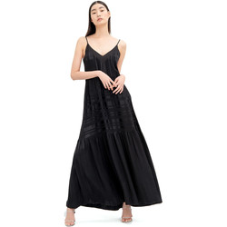 Vêtements Femme Robes longues Fracomina FR20SM546 Noir
