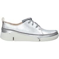 Chaussures Femme Baskets basses Clarks 26138898 Argent