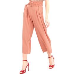 Vêtements Femme Pantalons fluides / Sarouels Fracomina FR20SM644 Rose