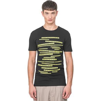 Vêtements Homme T-shirts manches courtes Antony Morato MMKS01749 FA120001 Noir