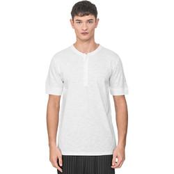 Vêtements Homme T-shirts manches courtes Antony Morato MMKS01725 FA100139 Blanc