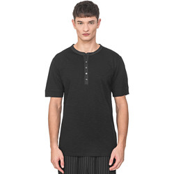 Vêtements Homme T-shirts manches courtes Antony Morato MMKS01725 FA100139 Noir