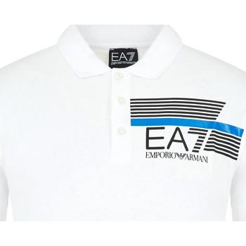Vêtements Homme Polos manches courtes Ea7 Emporio Armani 3HPF17 PJ02Z Blanc