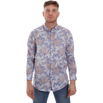 Vêtements Homme Chemises manches longues Sseinse CE502SS Bleu