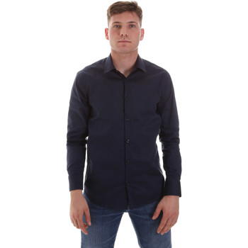 Vêtements Homme Chemises manches longues Sseinse CE506SS Bleu