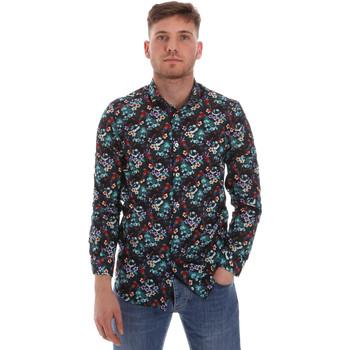 Vêtements Homme Chemises manches longues Sseinse CE509SS Bleu