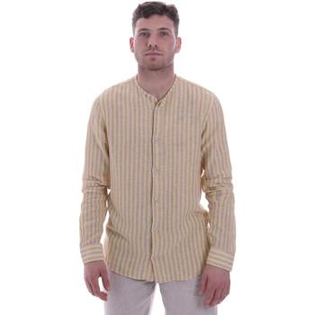 Vêtements Homme Chemises manches longues Sseinse CE534SS Beige