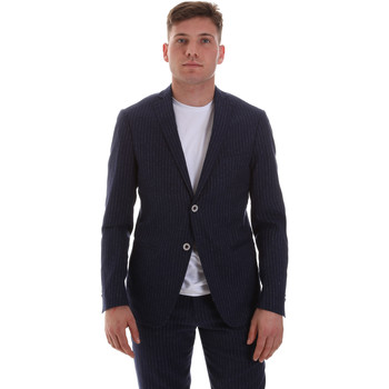 Vêtements Homme Vestes / Blazers Sseinse GAE569SS Bleu