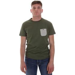 Vêtements Homme T-shirts manches courtes Sseinse ME1588SS Vert