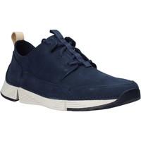 Chaussures Homme Baskets basses Clarks 26145025 Bleu