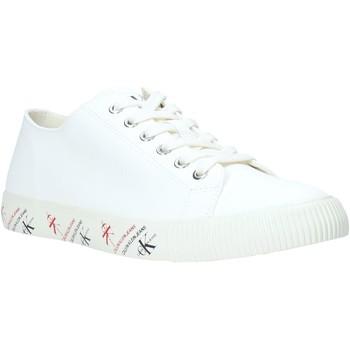 Chaussures Homme Baskets basses Calvin Klein Jeans B4S0668 Blanc