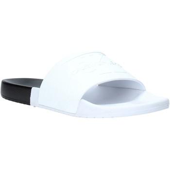 Chaussures Homme Claquettes Calvin Klein Jeans B4S0674 Blanc