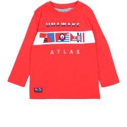 Vêtements Fille T-shirts manches longues Losan 015-1002AL Rouge