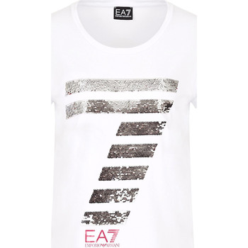 Vêtements Femme T-shirts manches courtes Ea7 Emporio Armani 3HTT41 TJ12Z Blanc