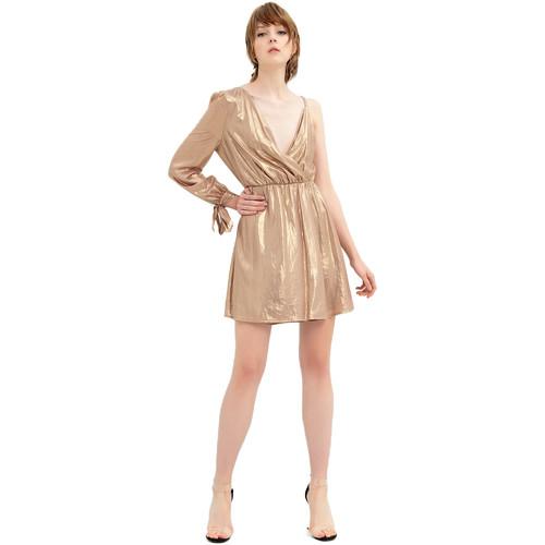 Vêtements Femme Robes courtes Fracomina FR20SP453 Doré