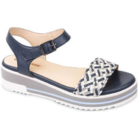 Chaussures Femme Sandales et Nu-pieds Valleverde 15150 Bleu