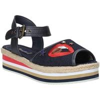 Chaussures Femme Sandales et Nu-pieds Wrangler WL181651 Bleu