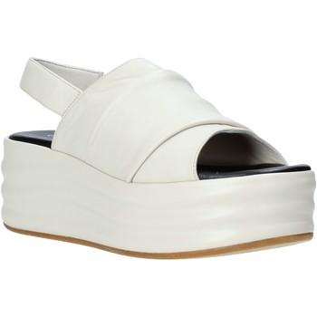 Chaussures Femme Sandales et Nu-pieds Café Noir GG422 Beige