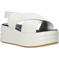 Chaussures Femme Sandales et Nu-pieds Café Noir GG426 Beige