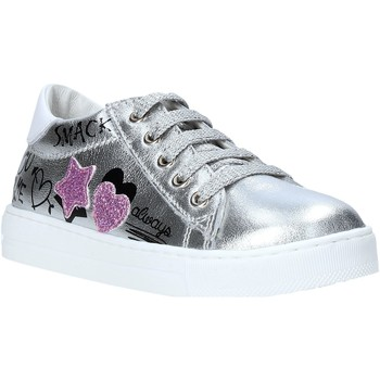 Chaussures Fille Baskets basses Falcotto 2014628 02 Argent