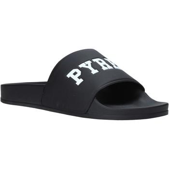 Chaussures Homme Claquettes Pyrex PY020167 Noir